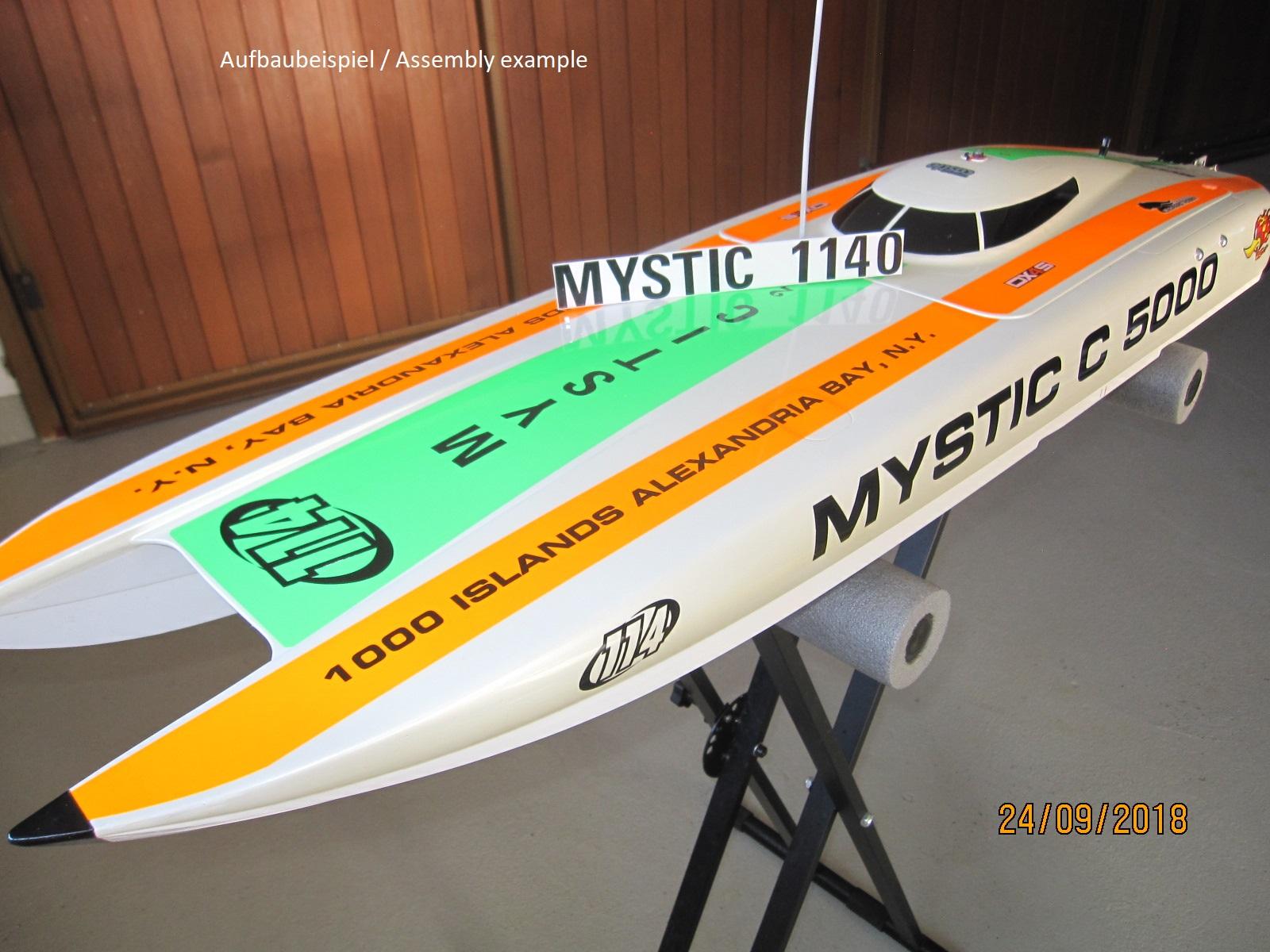 Mystic Rc Boat