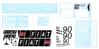 Dekorbogen | Fiat Uno